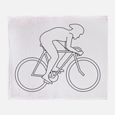 Cycling Design. Throw Blanket