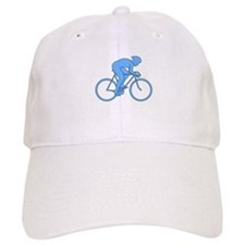 Cycling Design in Blue. Baseball Baseball Cap