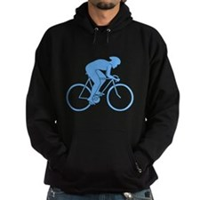 Cycling Design in Blue. Hoody