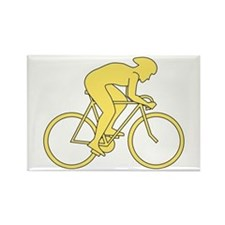 Cycling Design in Yellow Rectangle Magnet