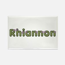 Rhiannon Spring Green Rectangle Magnet