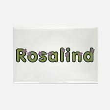 Rosalind Spring Green Rectangle Magnet