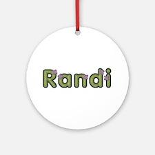 Randi Spring Green Round Ornament