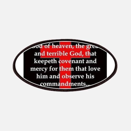 Nehemiah 1:5 Patch