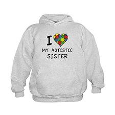 I Love My Autistic Sister Hoodie