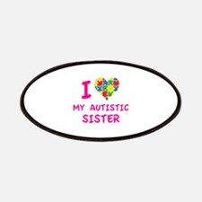 I Love My Autistic Sister Patches