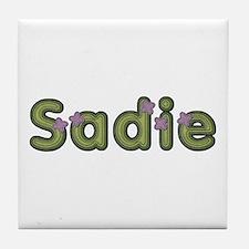 Sadie Spring Green Tile Coaster