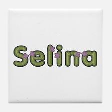 Selina Spring Green Tile Coaster