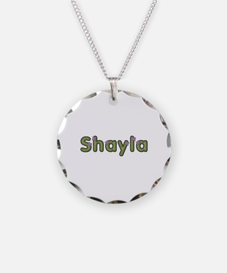 Shayla Spring Green Necklace