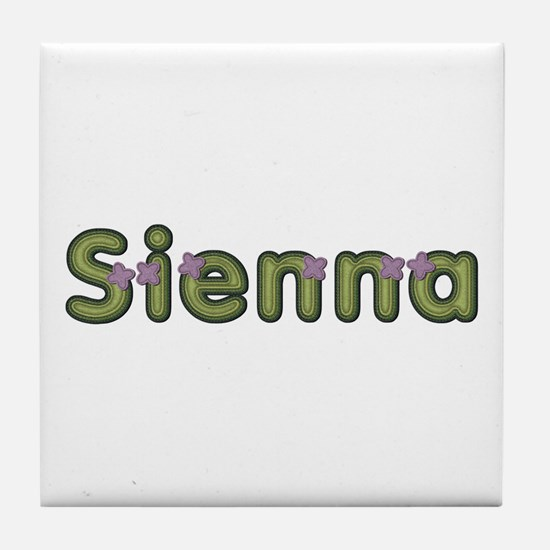 Sienna Spring Green Tile Coaster