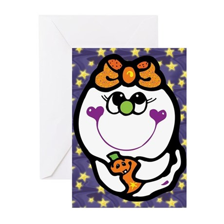 Cute Ghost Greeting Cards (Pk of 10)