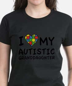 I Love My Autistic Granddaughter Tee