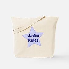 Jaden Rules Tote Bag