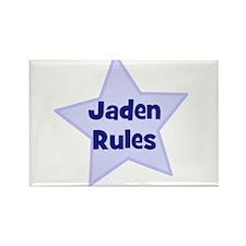 Jaden Rules Rectangle Magnet