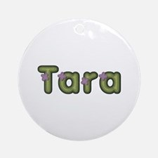 Tara Spring Green Round Ornament