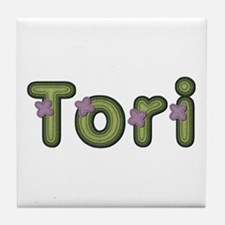 Tori Spring Green Tile Coaster