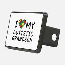 I Love My Autistic Grandson Hitch Cover