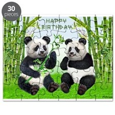 HAPPY BIRTHDAY PANDAS Puzzle