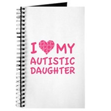 I Love My Autistic Daughter Journal