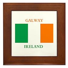 Galway Ireland Framed Tile