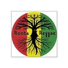 Roots Reggae Designs-3 Sticker