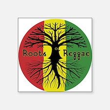 Roots Reggae Designs-3 Sticker