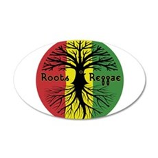 Roots Reggae Designs-3 Wall Decal