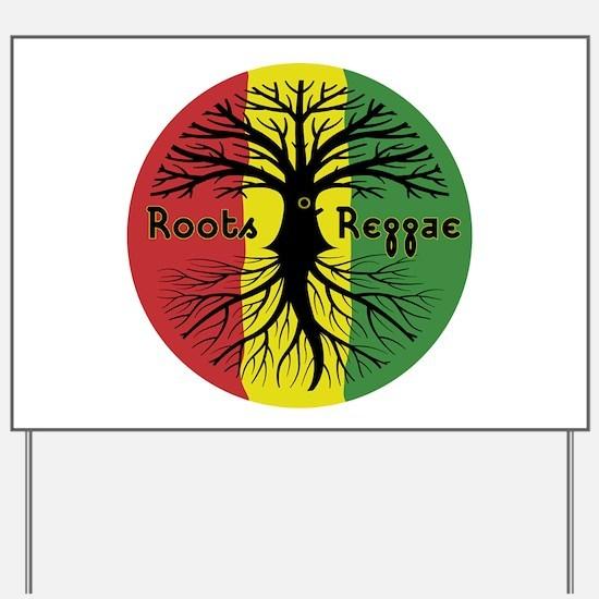 Roots Reggae Designs-3 Yard Sign