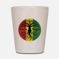 Roots Reggae Designs-3 Shot Glass
