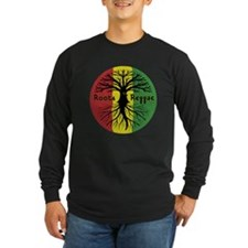 Roots Reggae Designs-3 Long Sleeve T-Shirt