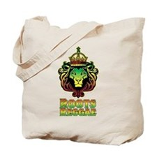 Roots Reggae Lion Tote Bag