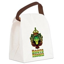 Roots Reggae Lion Canvas Lunch Bag