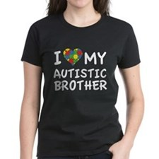 I Love My Autistic Brother Tee