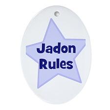 Jadon Rules Oval Ornament
