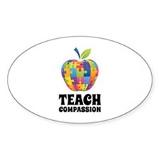 Teach Compassion Decal