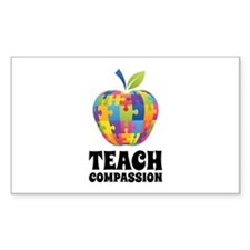 Teach Compassion Decal