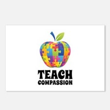 Teach Compassion Postcards (Package of 8)