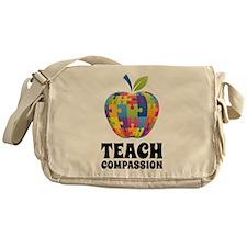 Teach Compassion Messenger Bag
