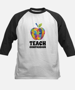 Teach Compassion Kids Baseball Jersey