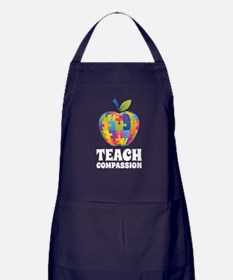 Teach Compassion Apron (dark)