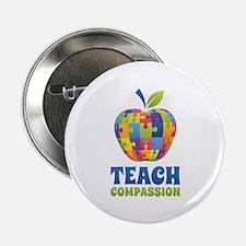 "Teach Compassion 2.25"" Button"