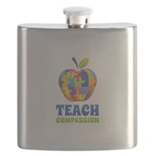 Teach Compassion Flask