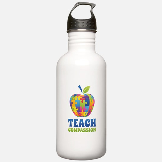 Teach Compassion Water Bottle