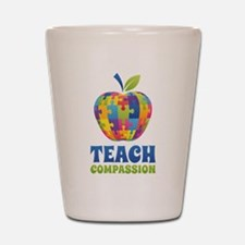 Teach Compassion Shot Glass
