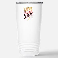 Love Runs Deep in Dallas Travel Mug