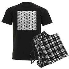 Cycling Pattern. Pajamas