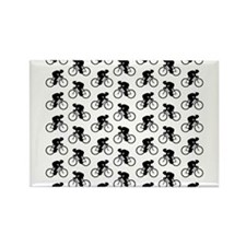 Cycling Pattern. Rectangle Magnet (10 pack)