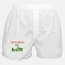 Retirement Fun! Boxer Shorts