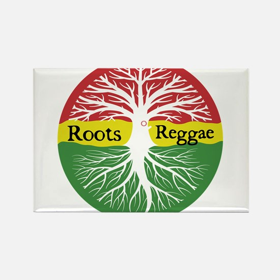 Roots Reggae Rectangle Magnet