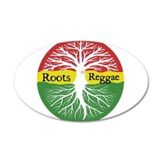 Roots Reggae Wall Decal